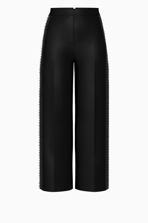 Claudia Wide Leg Trouser Customizable Made To Order